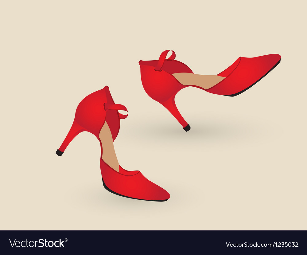 Tango shoes vector | Price: 1 Credit (USD $1)
