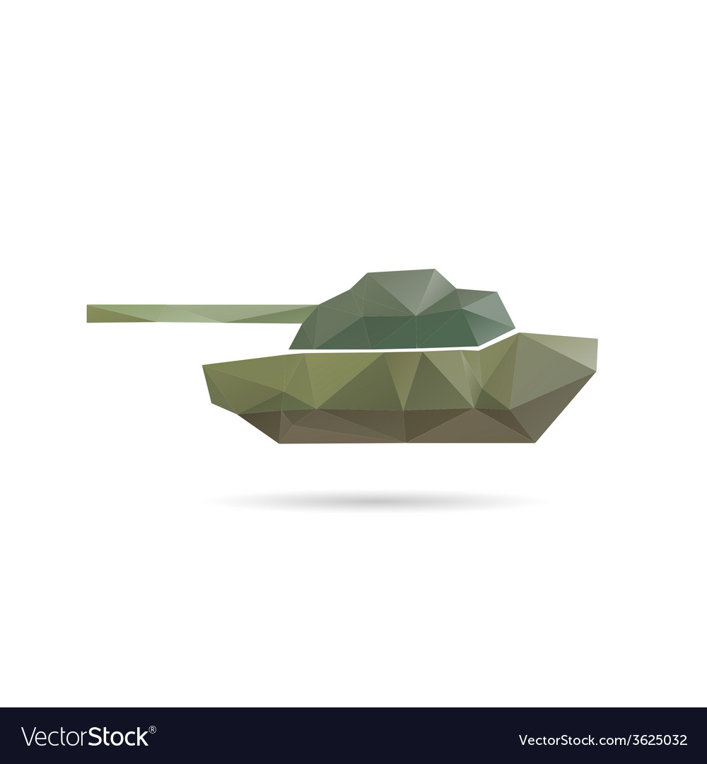 Tank icon abstract vector | Price: 1 Credit (USD $1)