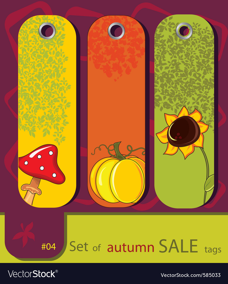 Retro sale nature vector | Price: 1 Credit (USD $1)