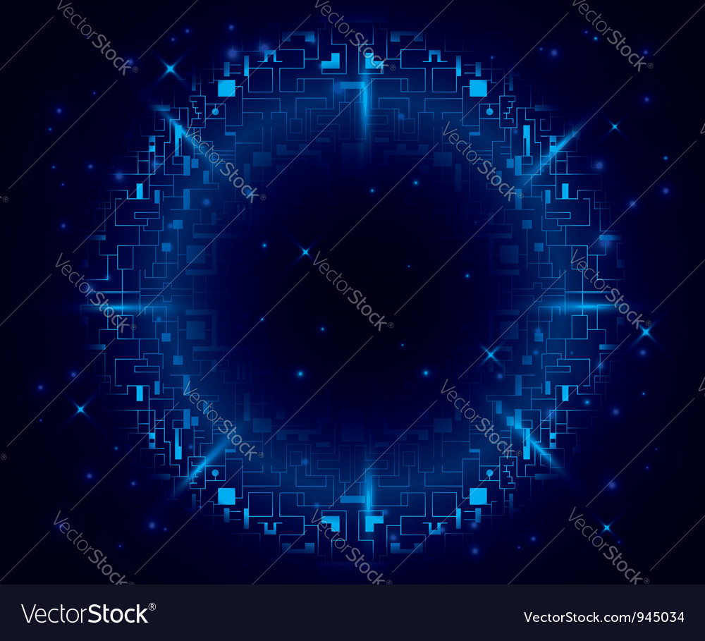 Abstract radial vector | Price: 1 Credit (USD $1)