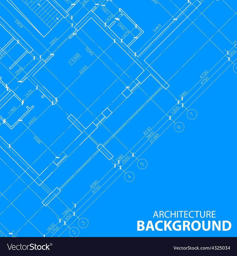 Blueprint best architecture model vector | Price: 1 Credit (USD $1)