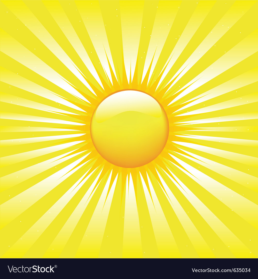Bright sunburst vector | Price: 1 Credit (USD $1)