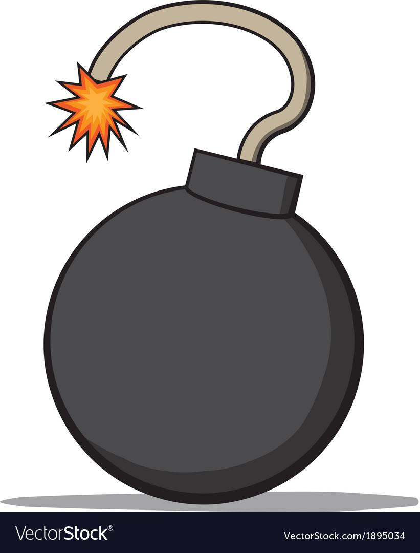 Cartoon bomb vector | Price: 1 Credit (USD $1)