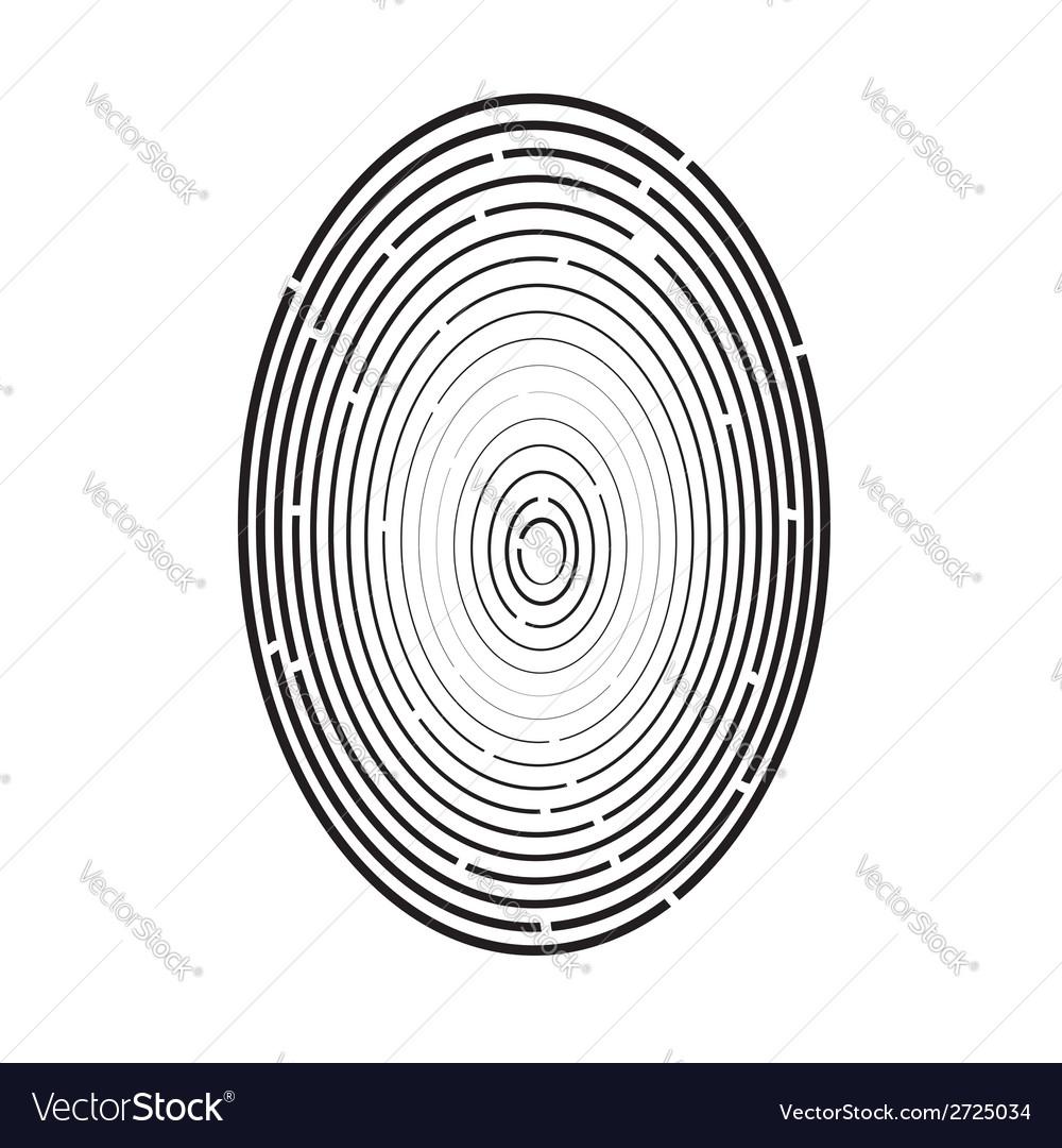 Fingerprint vector   Price: 1 Credit (USD $1)