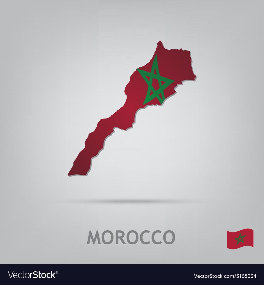 Morocco vector | Price: 1 Credit (USD $1)