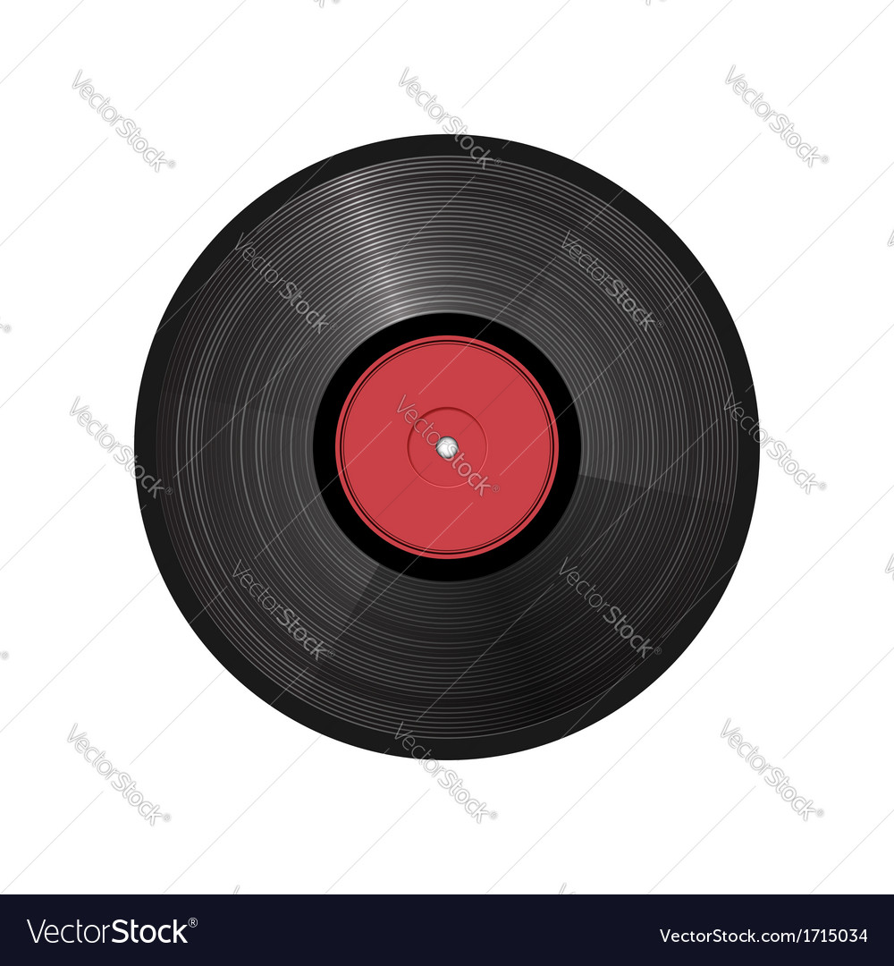 Retro vinyl record - vector | Price: 1 Credit (USD $1)