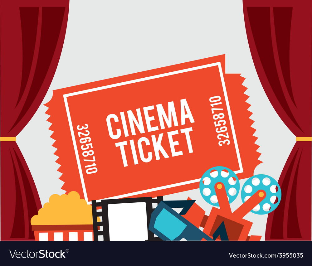 Cinema concept vector | Price: 1 Credit (USD $1)