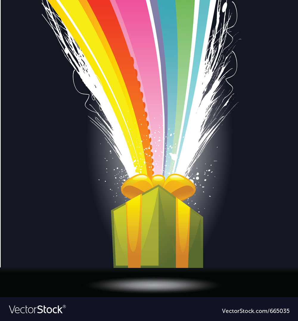 Surprise gift vector | Price: 3 Credit (USD $3)