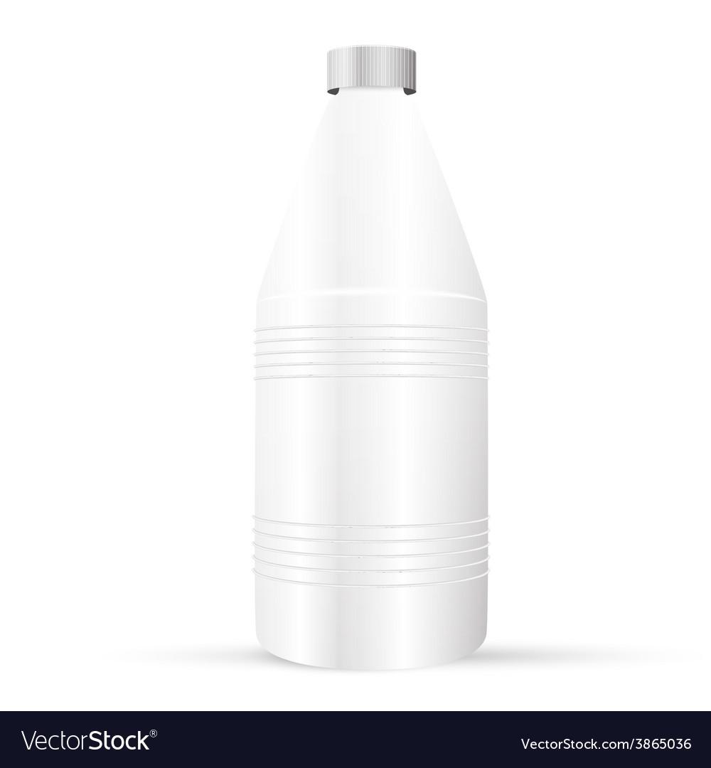Plastic bottle vector | Price: 1 Credit (USD $1)