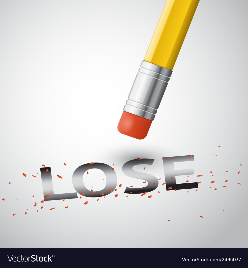 Erase the lose vector | Price: 1 Credit (USD $1)