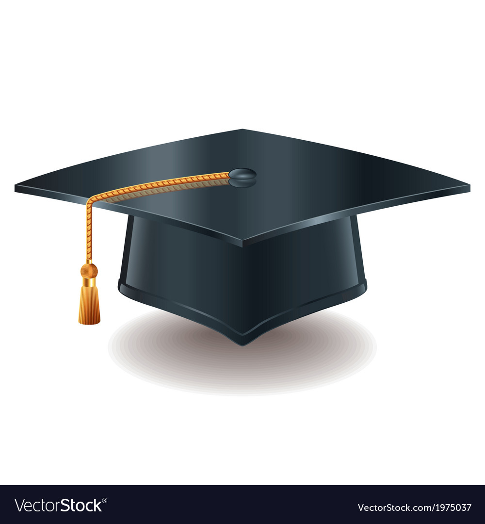 Object grad hat vector | Price: 1 Credit (USD $1)