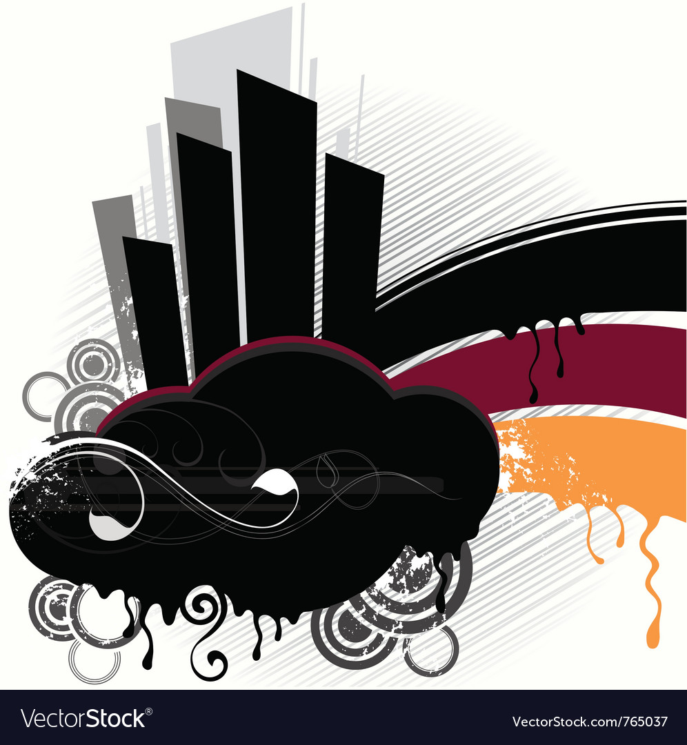 Street abstraction vector | Price: 1 Credit (USD $1)