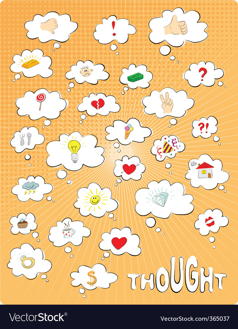 Thought vector | Price: 1 Credit (USD $1)