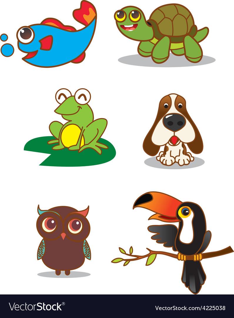Animals1 vector | Price: 1 Credit (USD $1)