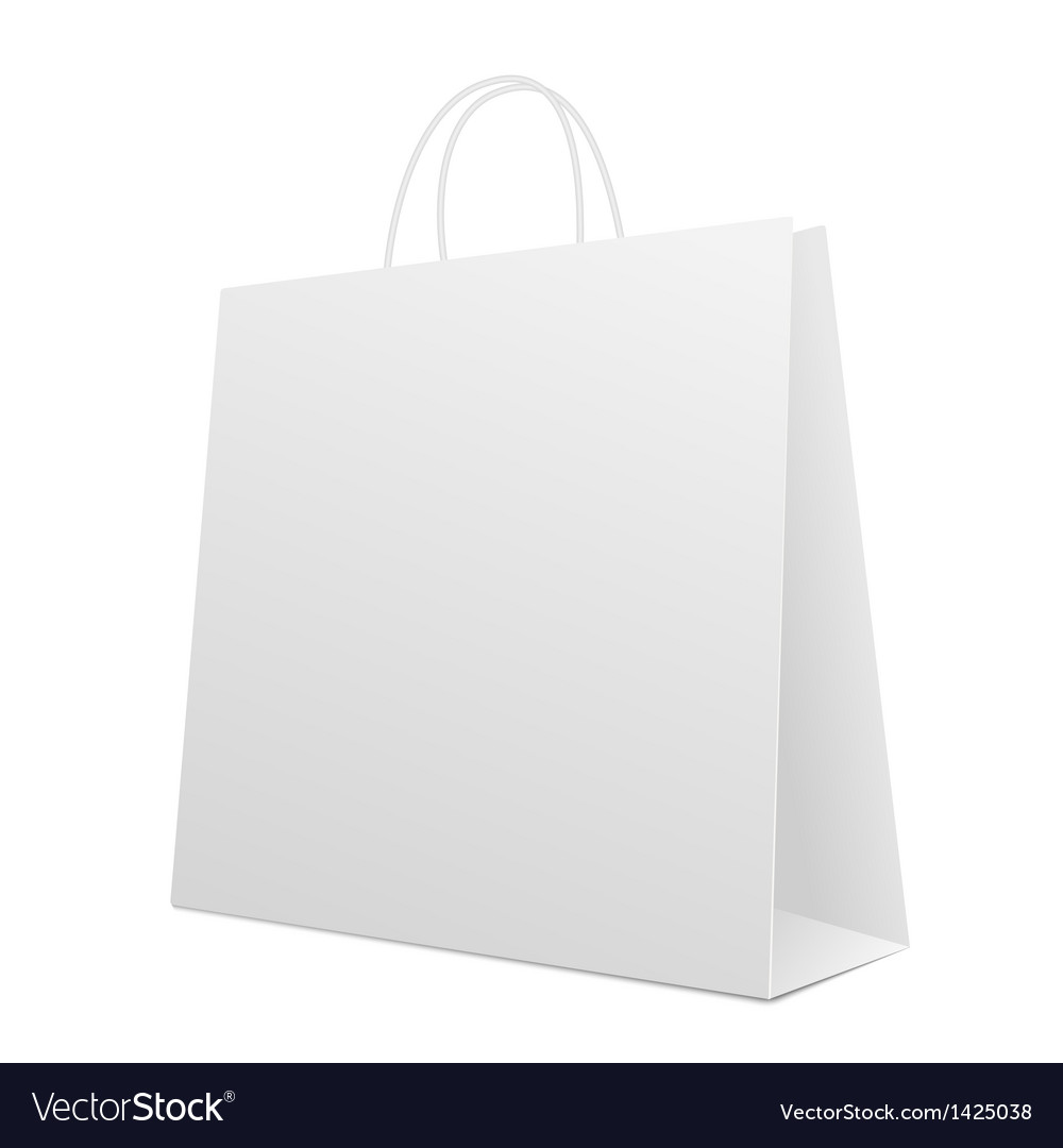 Empty shopping bag vector | Price: 1 Credit (USD $1)