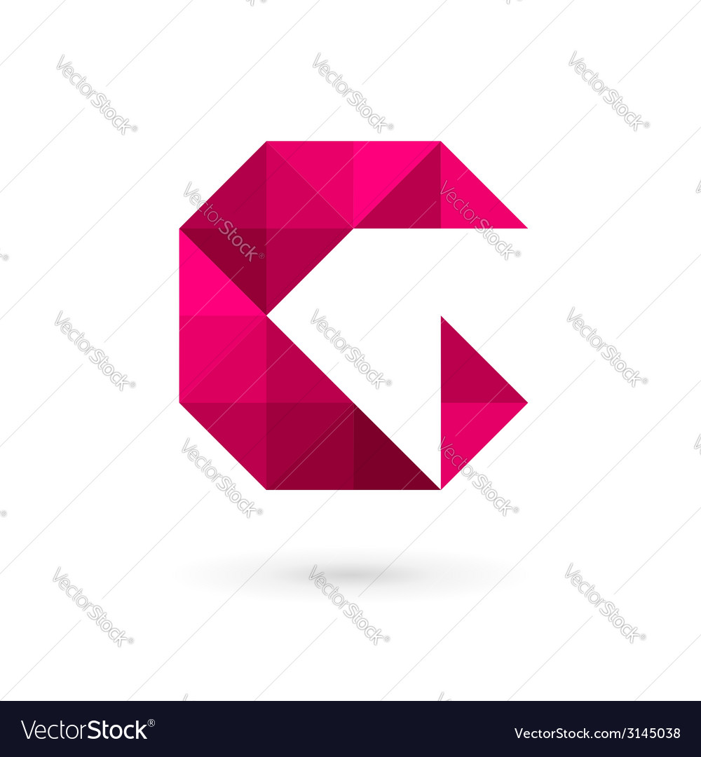 Letter g mosaic logo icon design template elements vector | Price: 1 Credit (USD $1)