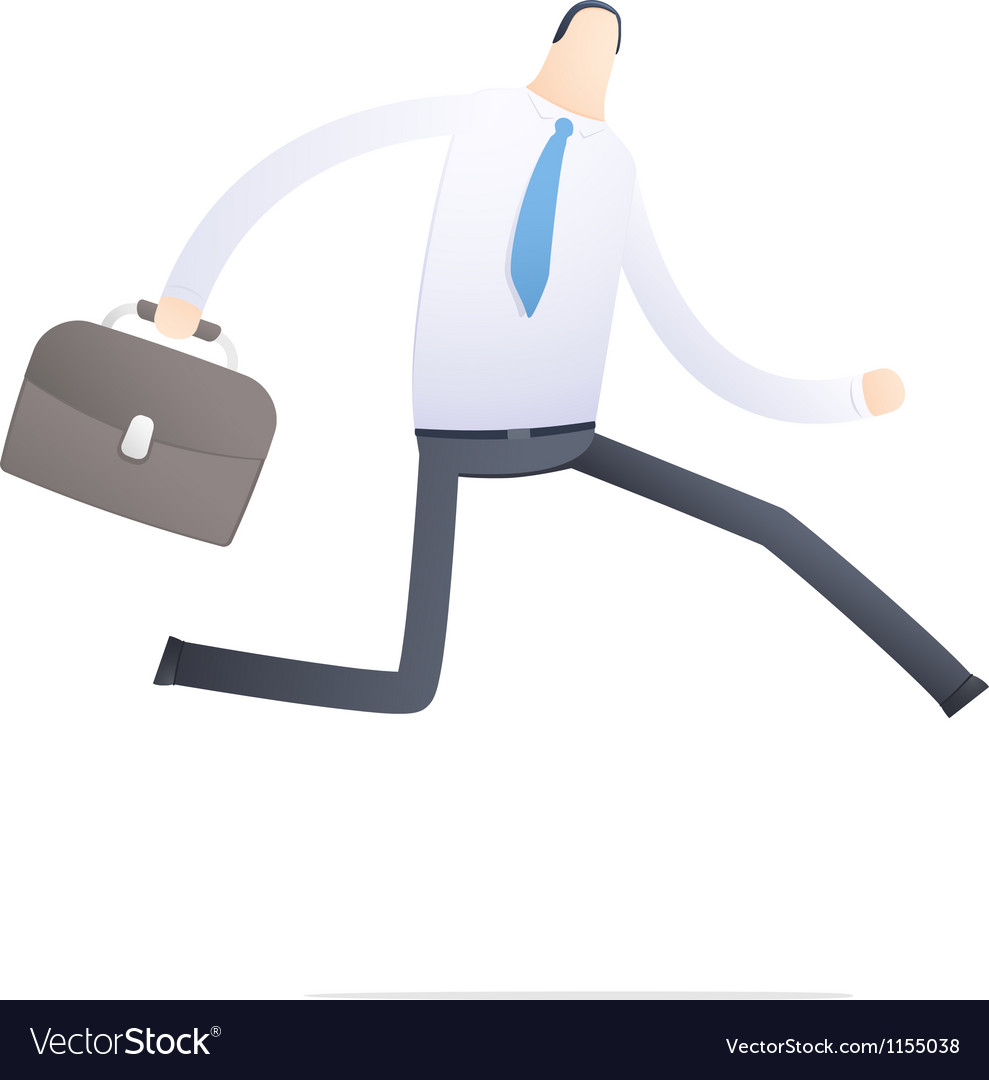 Manager run on the job vector | Price: 1 Credit (USD $1)
