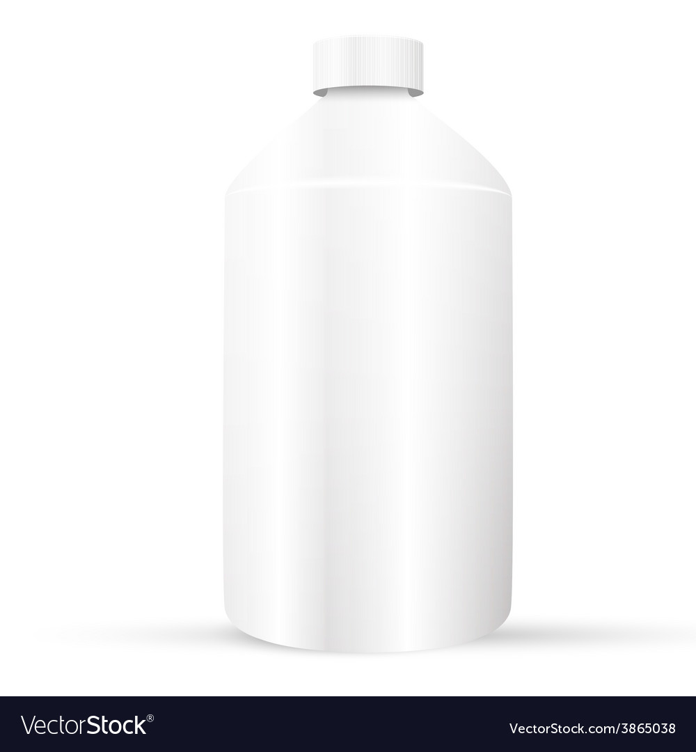 Plastic bottle vector | Price: 1 Credit (USD $1)