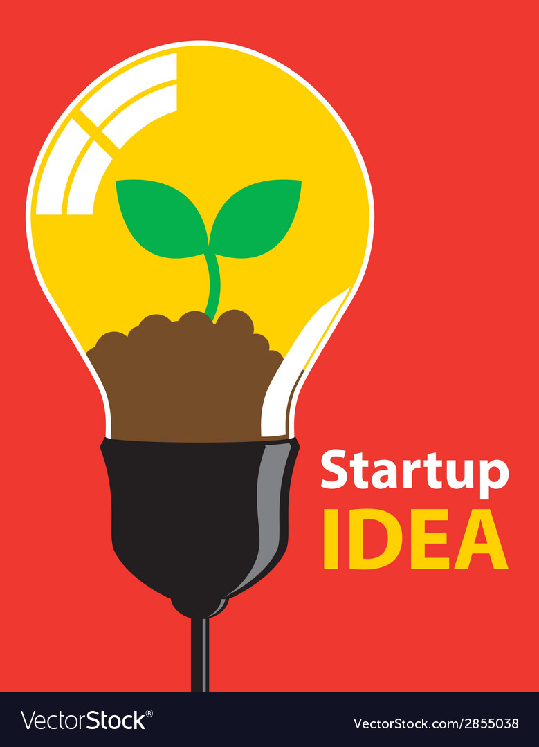 Startup idea vector | Price: 1 Credit (USD $1)