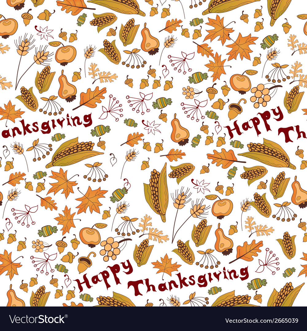 A seamless pattern with leaf vector | Price: 1 Credit (USD $1)
