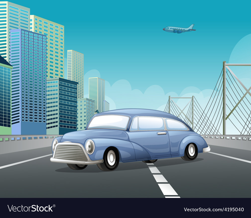 Classic car vector | Price: 3 Credit (USD $3)