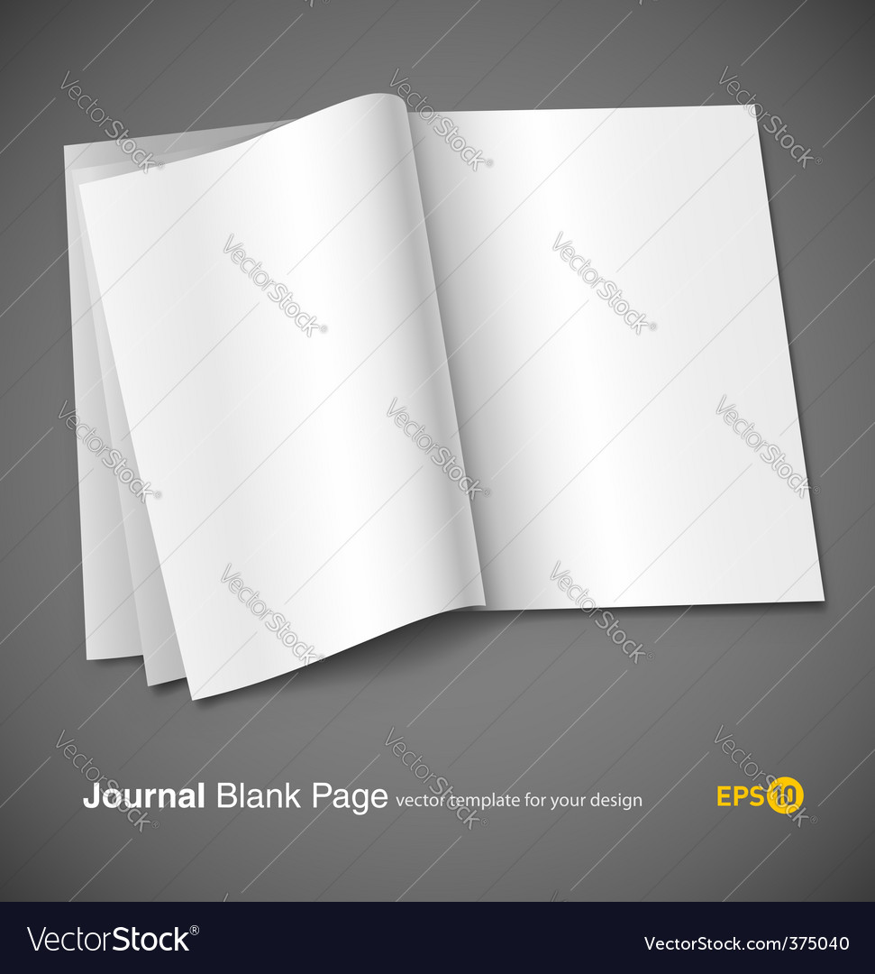 Magazine page template vector | Price: 3 Credit (USD $3)