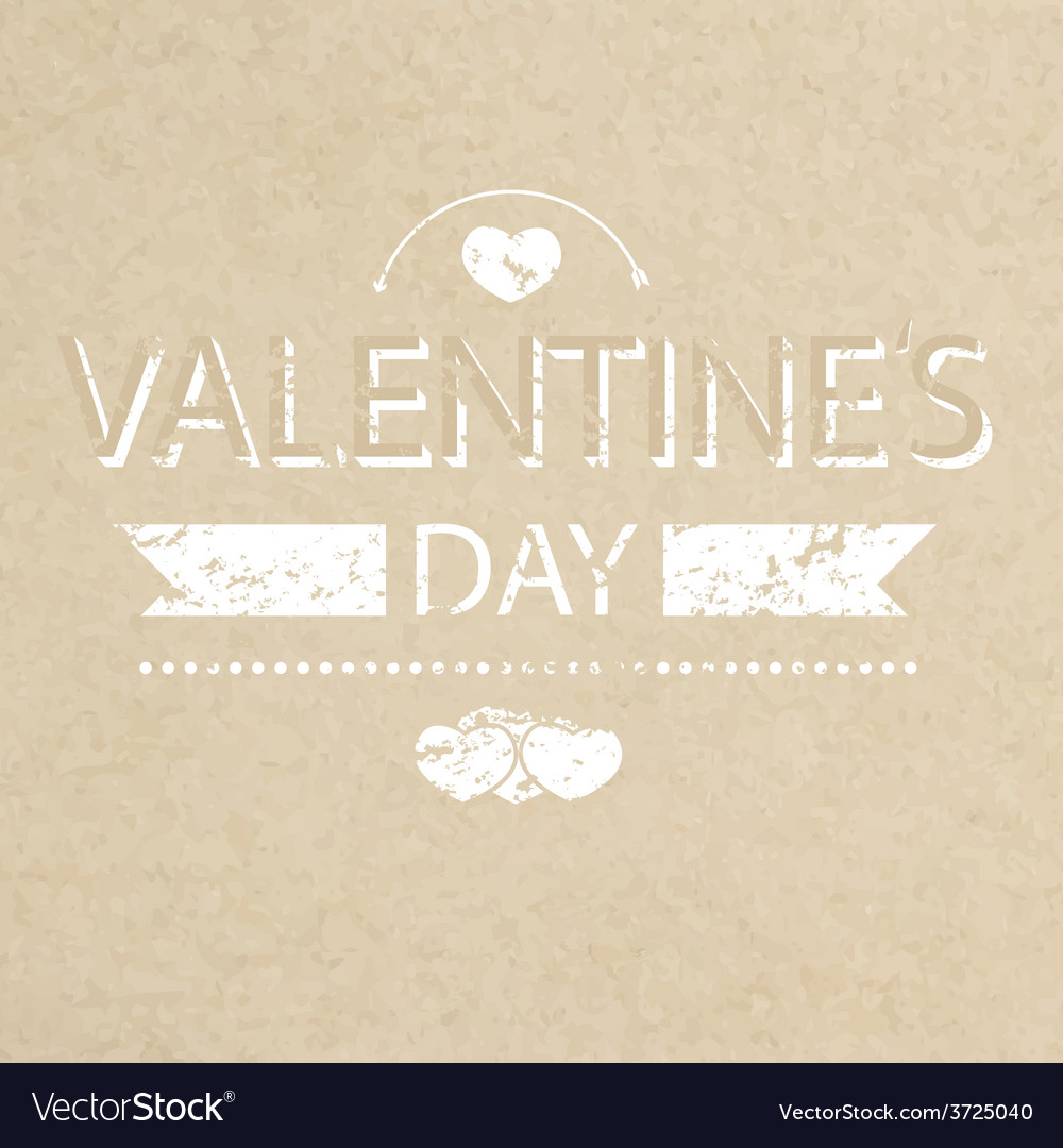 Template grunge paper valentines day card and bann vector | Price: 1 Credit (USD $1)