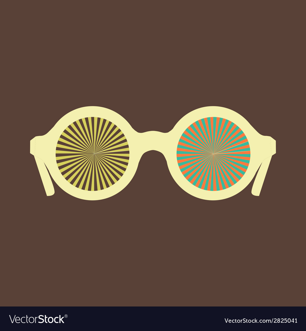 Hipster sunglasses set vector | Price: 1 Credit (USD $1)