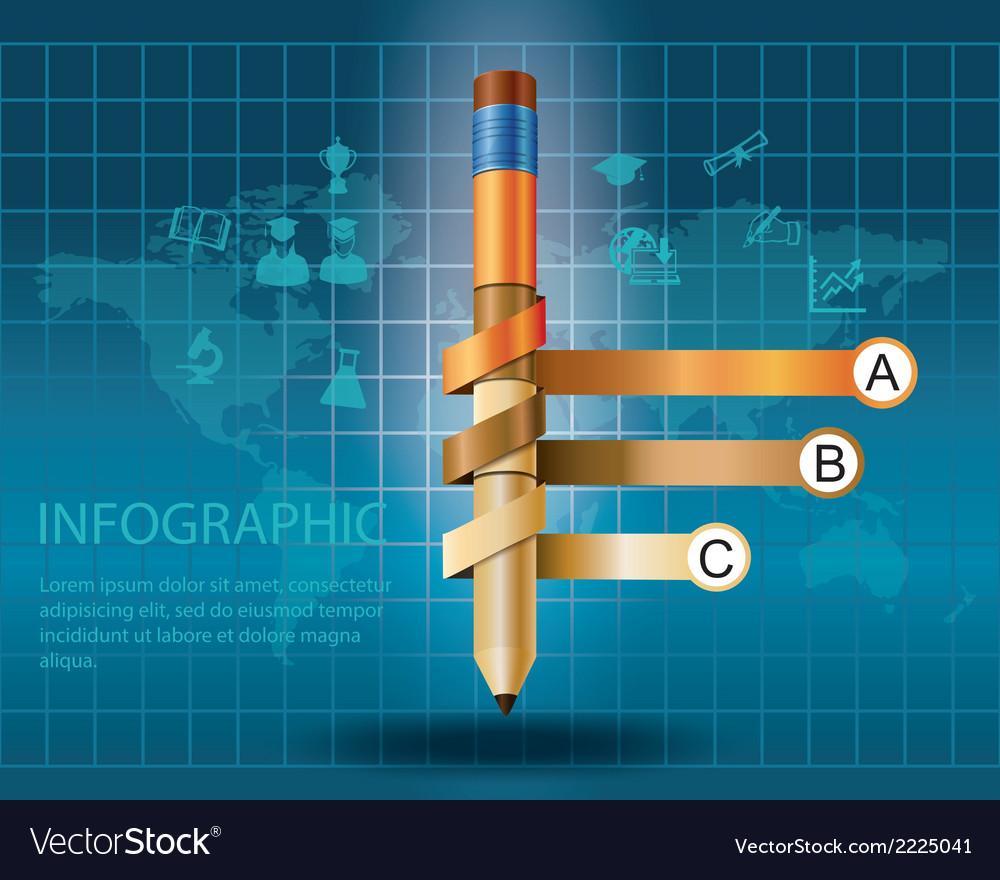 Pencil3 vector | Price: 1 Credit (USD $1)