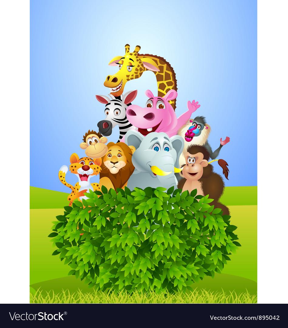 African animals vector | Price: 5 Credit (USD $5)