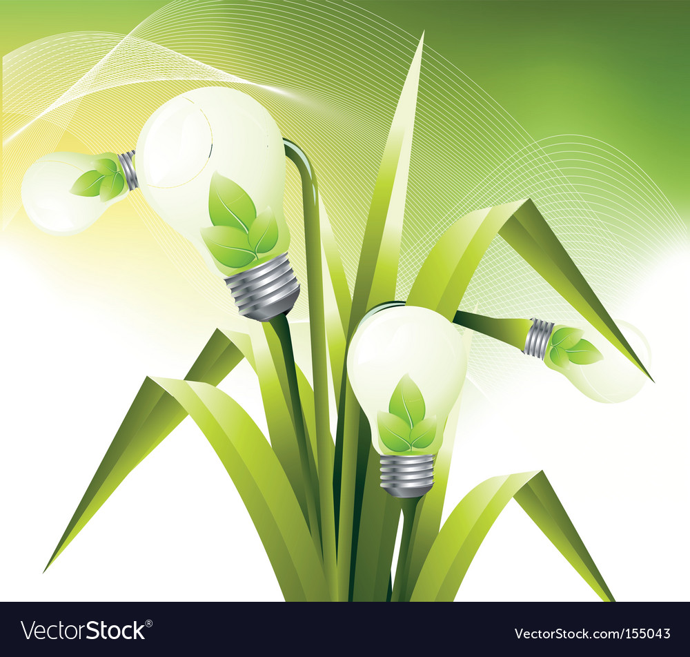 Lamp flower vector | Price: 1 Credit (USD $1)