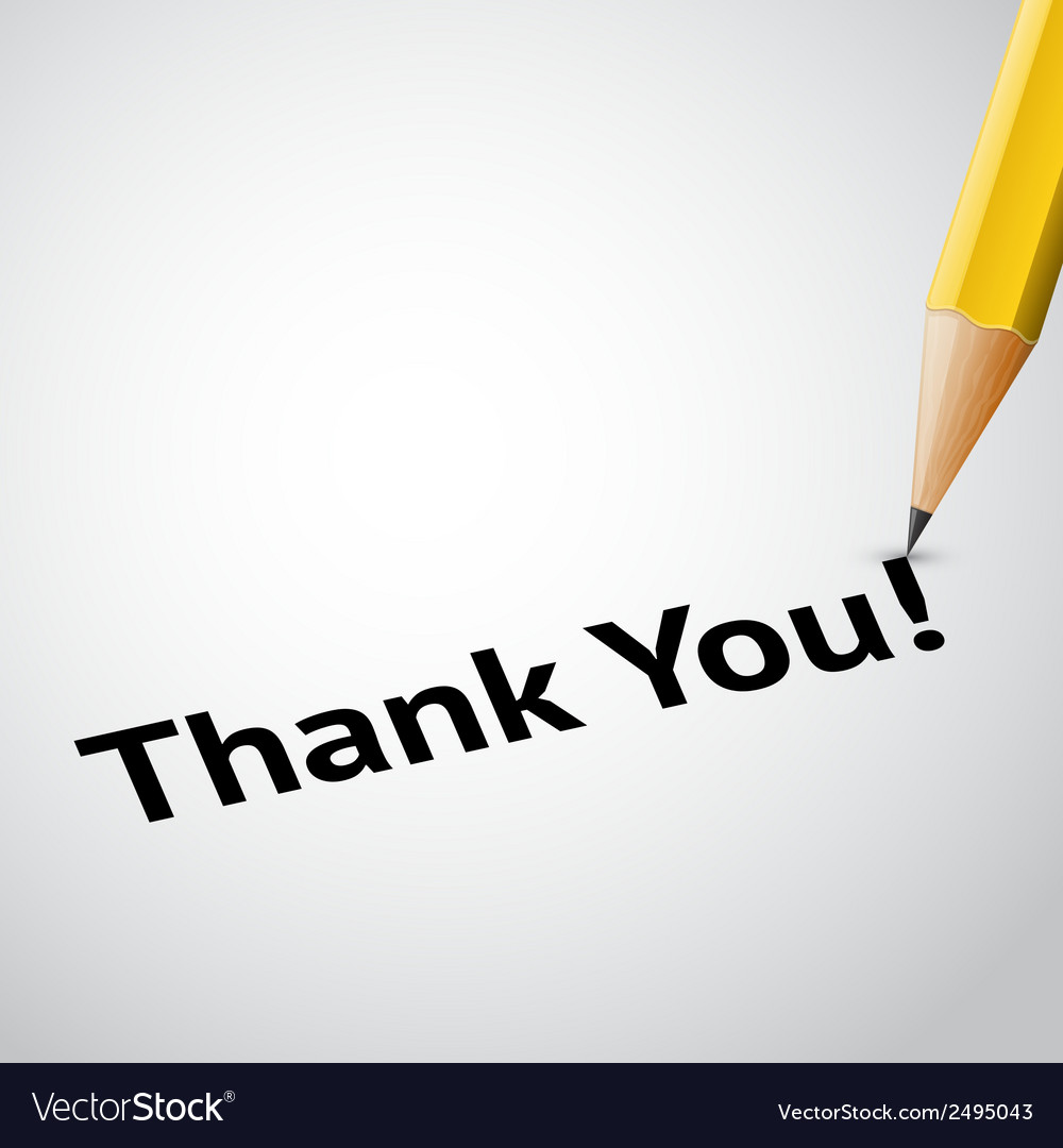 Write text thank you vector | Price: 1 Credit (USD $1)