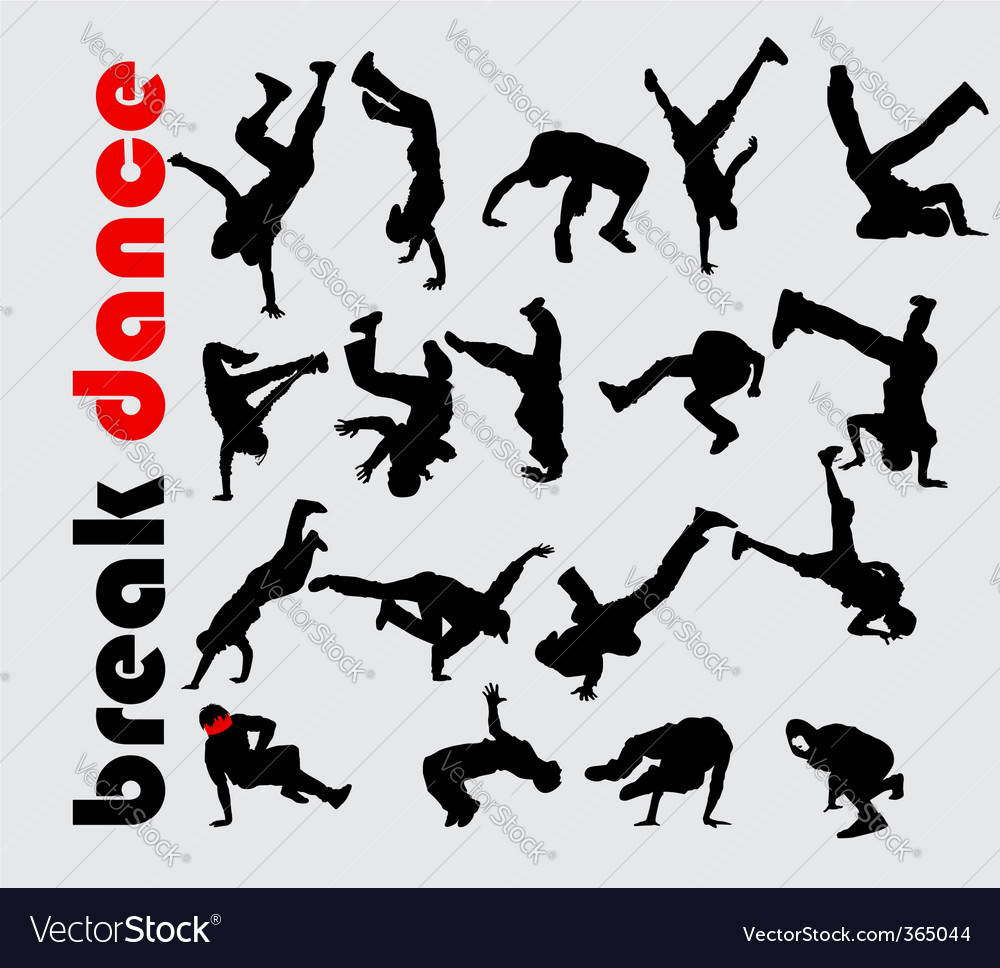 Break dance vector | Price: 1 Credit (USD $1)