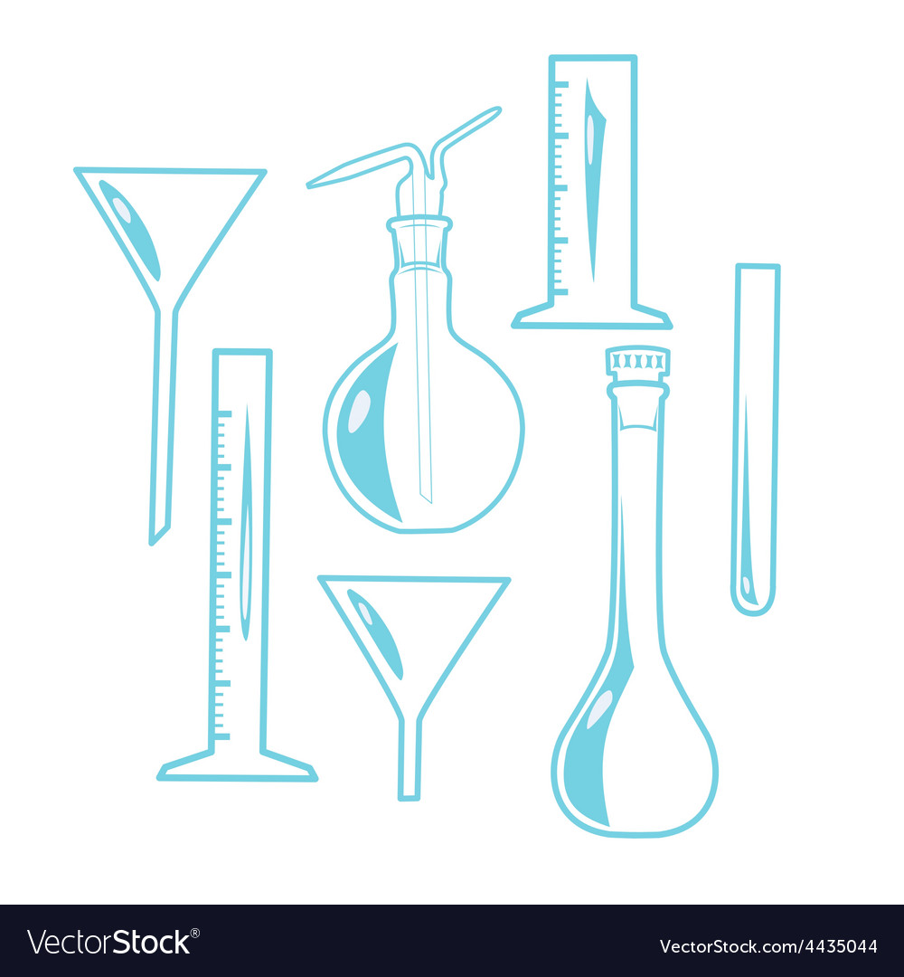 Laboratory equipment vector | Price: 1 Credit (USD $1)