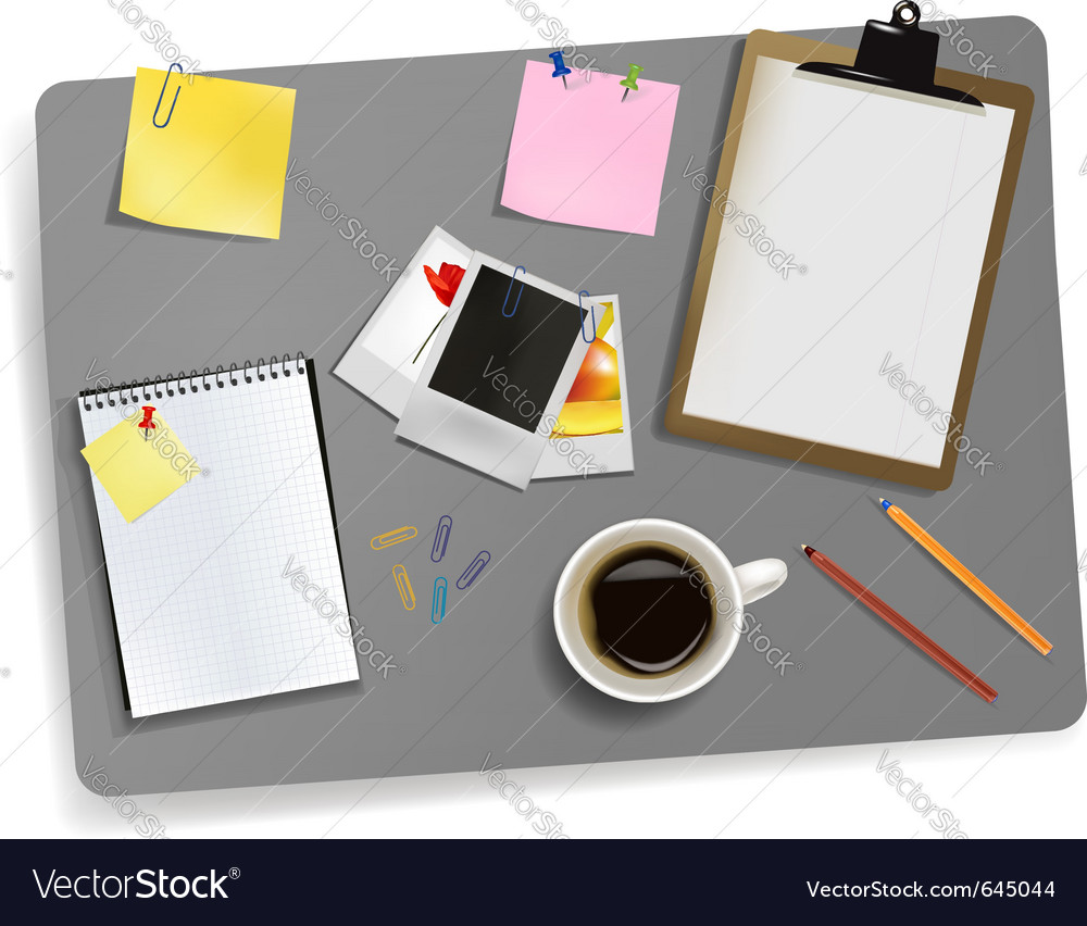 Photo and office supplies vector | Price: 1 Credit (USD $1)