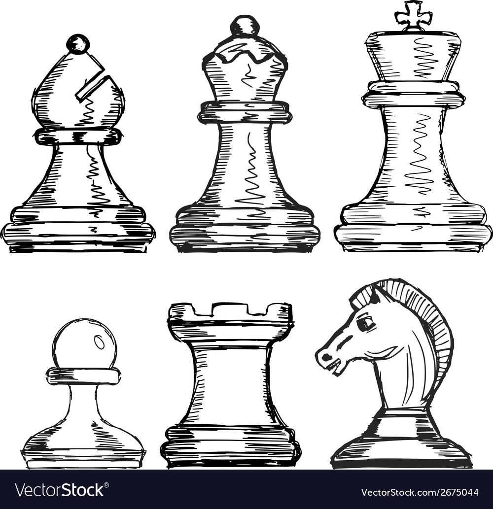 Set of chess vector | Price: 1 Credit (USD $1)