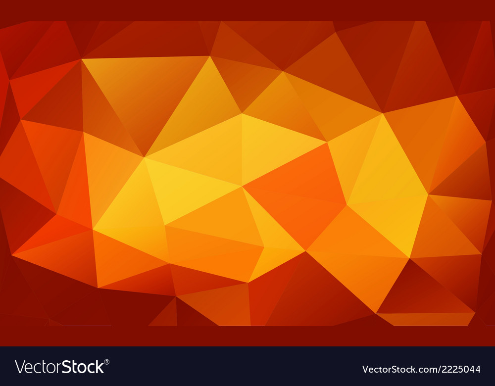 Triangle background colorful polygons vector | Price: 1 Credit (USD $1)