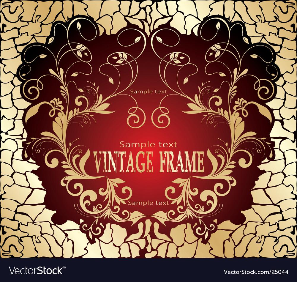 Vintage design vector | Price: 1 Credit (USD $1)