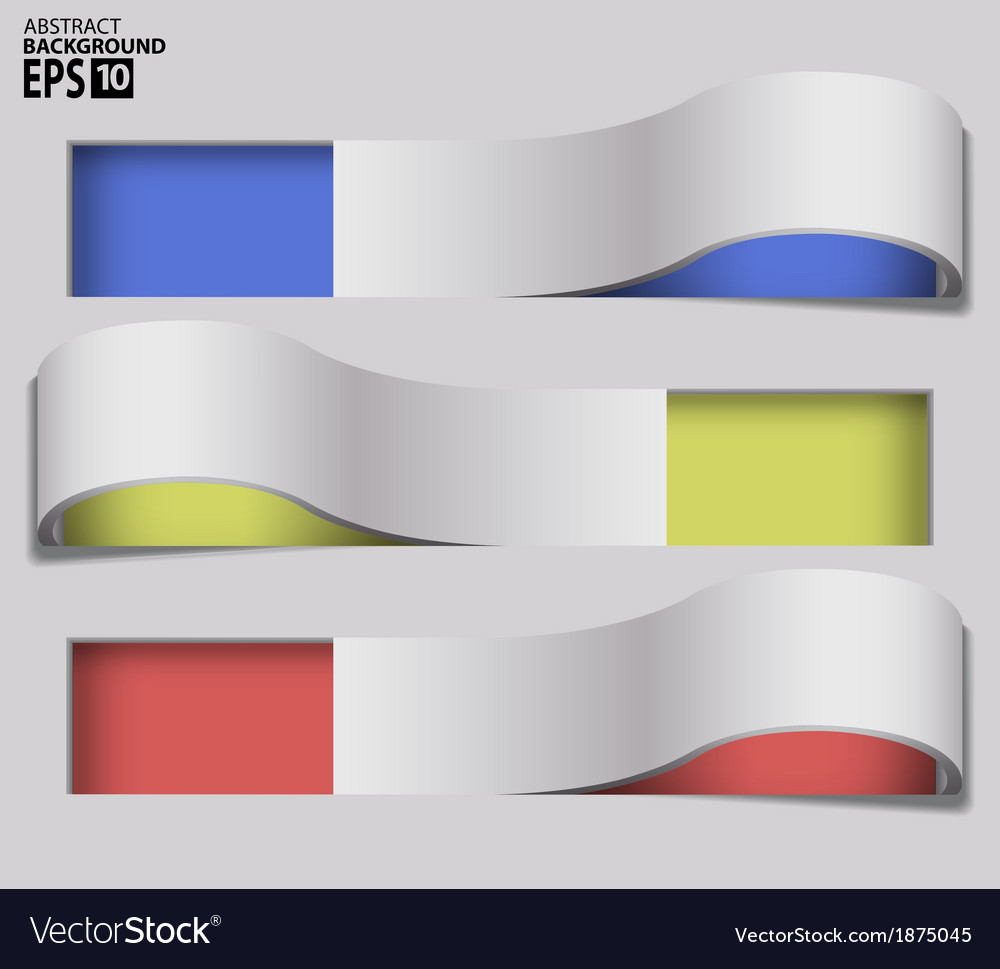 3d twisted frames abstract background vector | Price: 1 Credit (USD $1)