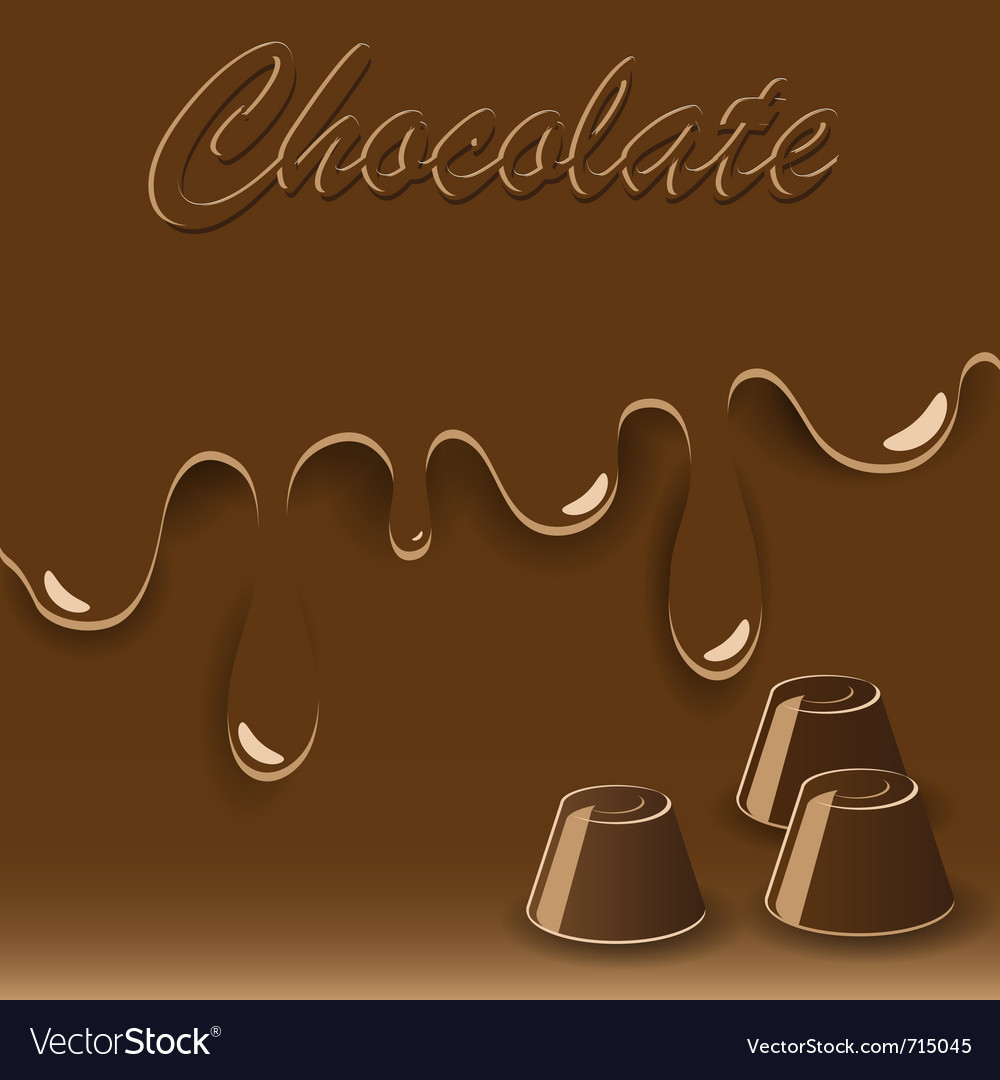 Chocolate sweets vector | Price: 1 Credit (USD $1)