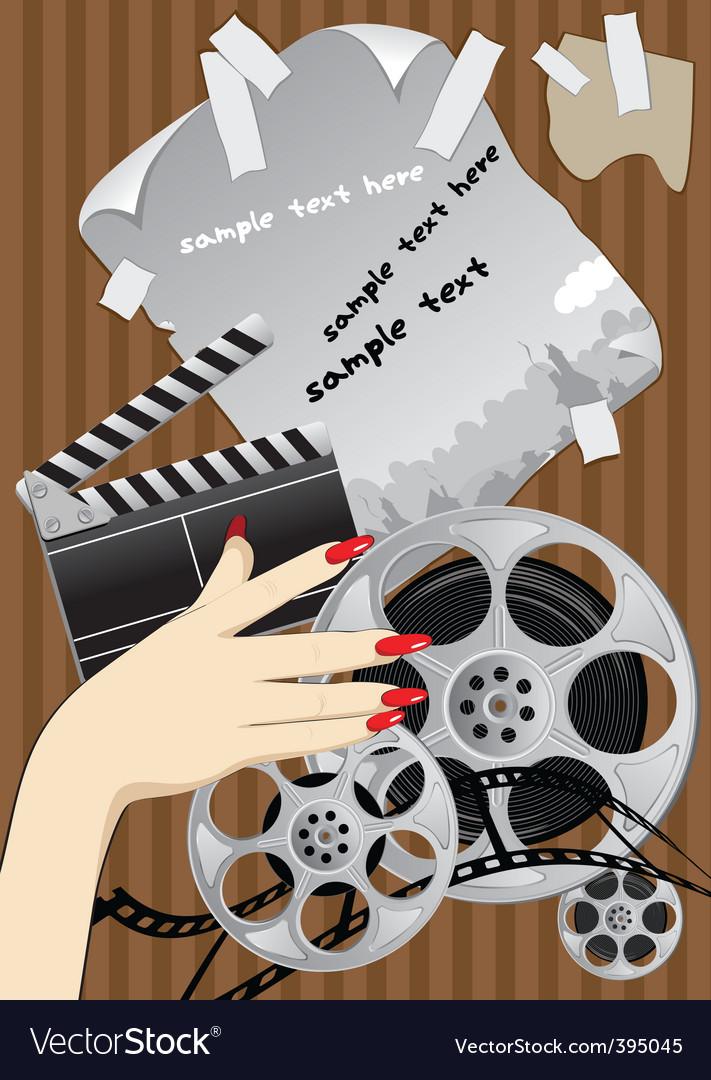 Film making vector | Price: 5 Credit (USD $5)