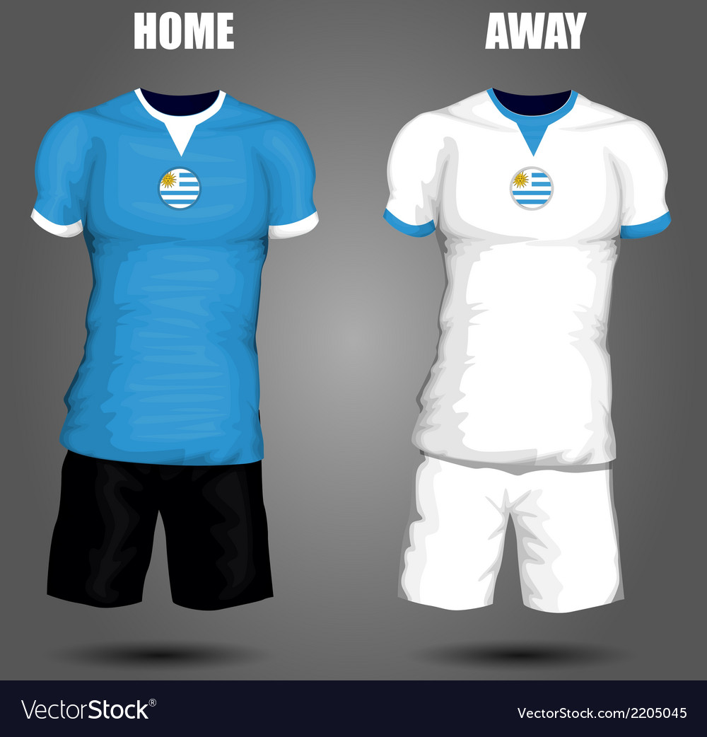 Football soccer jersey vector | Price: 1 Credit (USD $1)