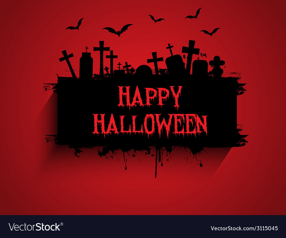 Halloween background 2509 vector | Price: 1 Credit (USD $1)