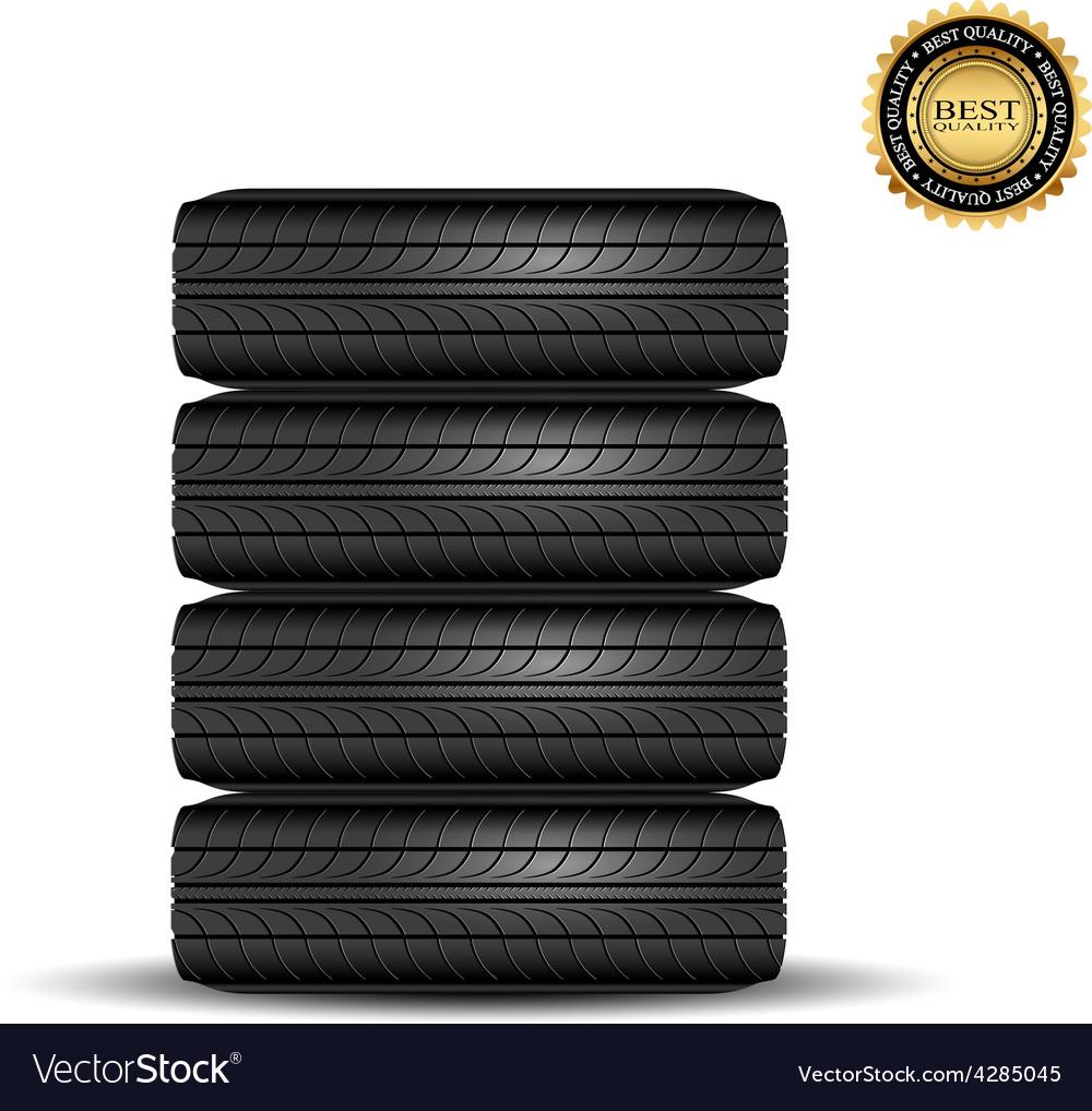 Tire black best1 vector | Price: 1 Credit (USD $1)