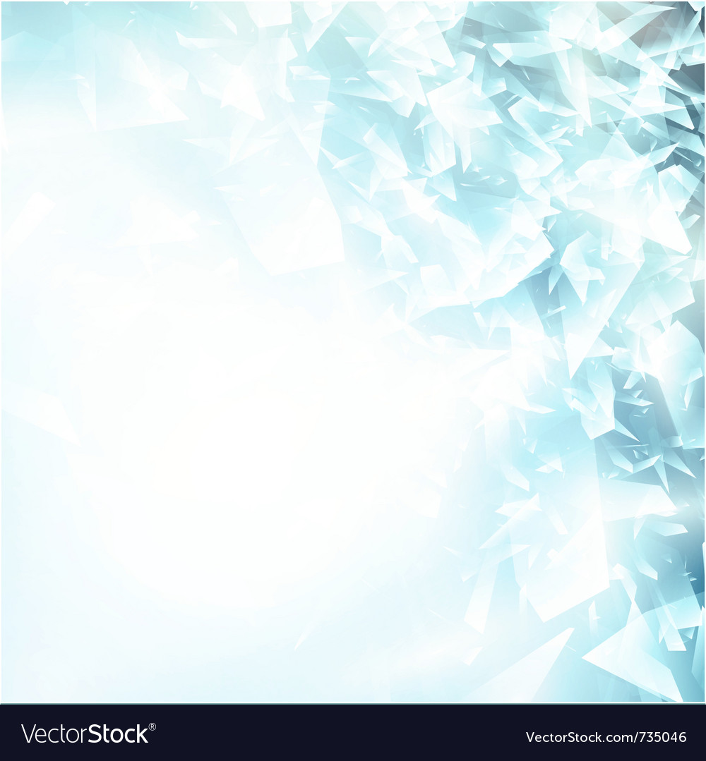 Abstract blue ice background vector | Price: 1 Credit (USD $1)