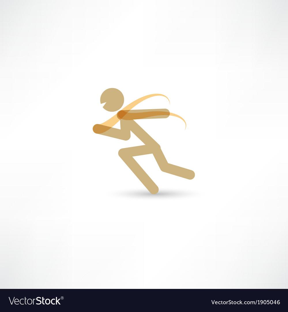 Sprinter man vector   Price: 1 Credit (USD $1)