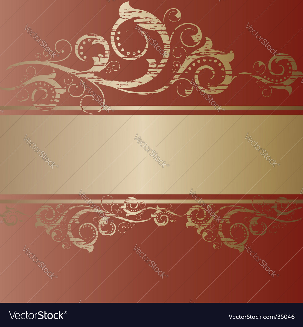 Vintage banner frame vector | Price: 1 Credit (USD $1)