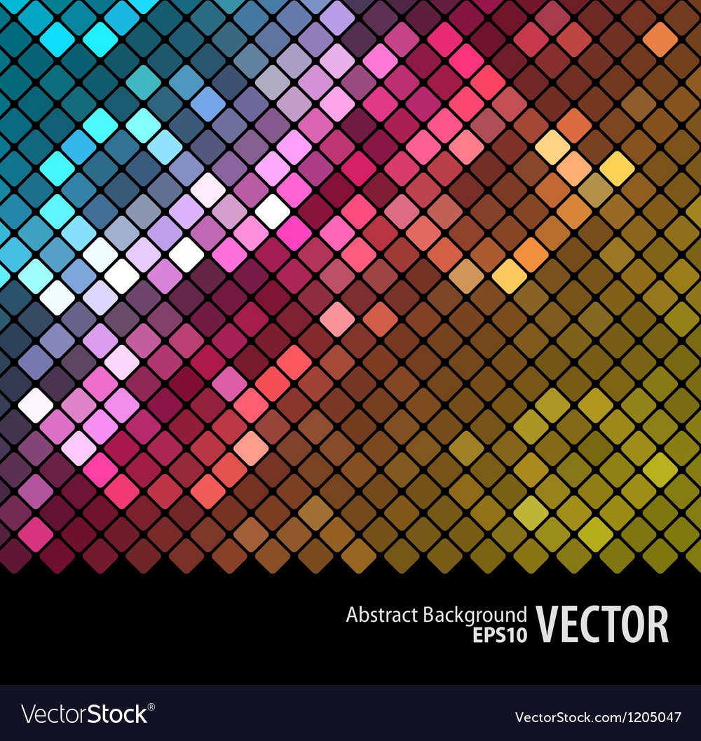 Abstract mosaic background 3 vector | Price: 1 Credit (USD $1)