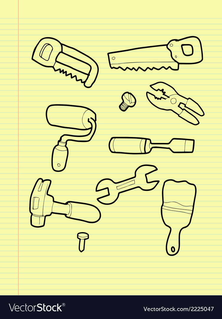 Carpentry tools vector | Price: 1 Credit (USD $1)