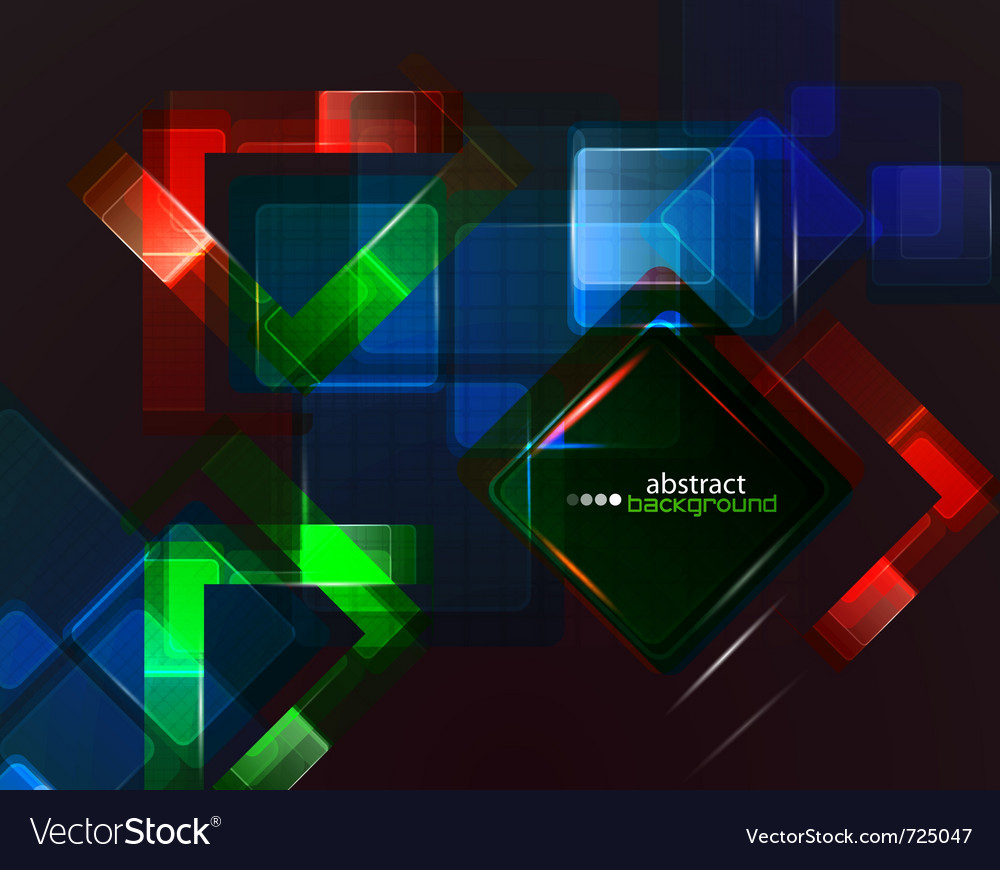 Colorful techno abstract background vector | Price: 1 Credit (USD $1)